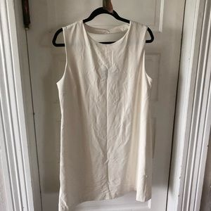 Xl off white Lycra dress